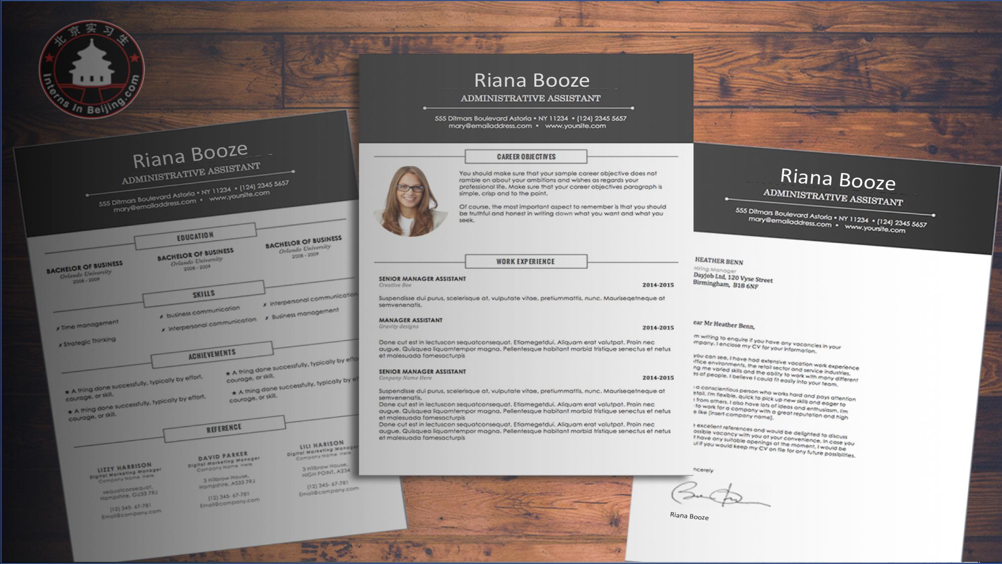 customized CV update