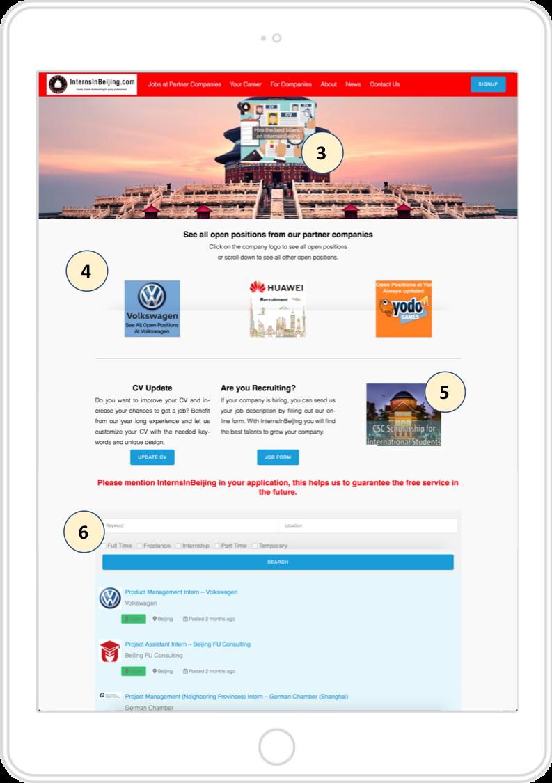 JobPage Ads InternsInBeijing
