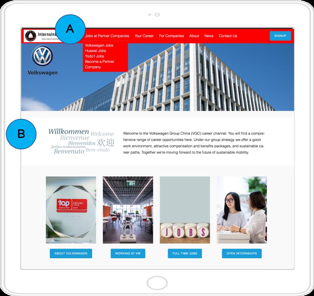 Vw company page InternsInBeijing