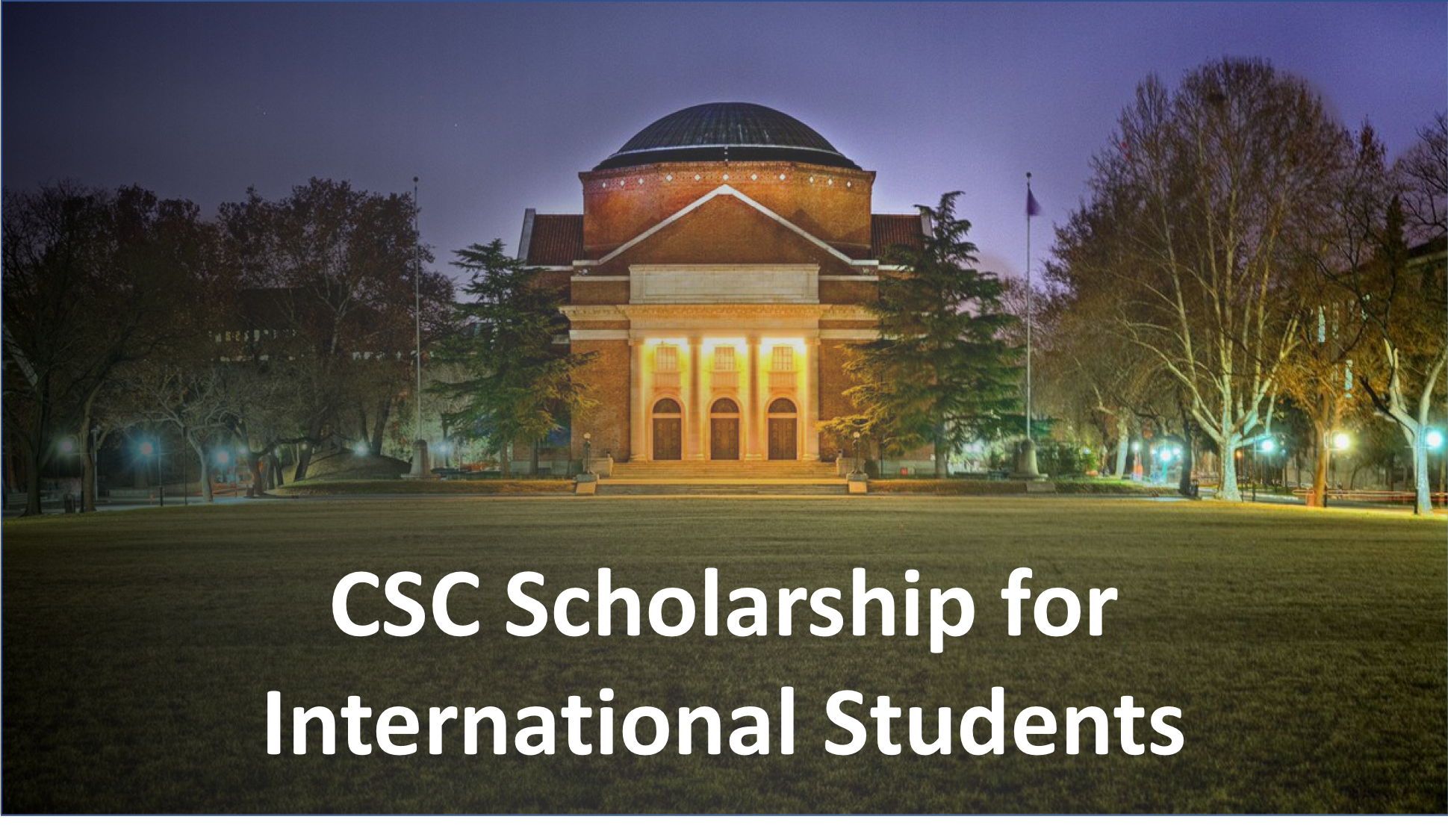 scholarship cover csc china